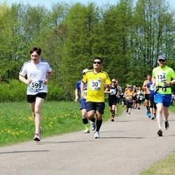 46. jooks ümber Harku järve - Manuel Anaya (30), Jakob Jõgi (134), Marko Sikk (599), Laura Viilup (752)