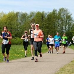 46. jooks ümber Harku järve - Karin Sahar-Lambinen (576), Anne-Ly Viikmaa (748)