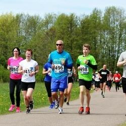 46. jooks ümber Harku järve - Magnus Kvell (270), Kadri Nokkur (415), Janek Popell (496), Rasmus Popell (498)