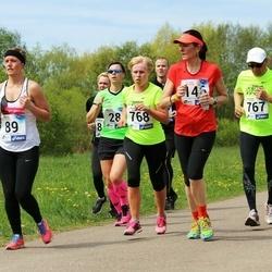 46. jooks ümber Harku järve - Kairit Kaasik (146), Gunnar Vooremäe (767), Linda Vooremäe (768)