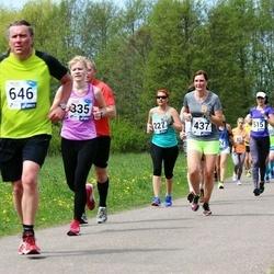 46. jooks ümber Harku järve - Sven Tekkel (646), Andrus Kolks (850)