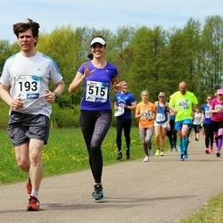 46. jooks ümber Harku järve - Gert Kello (193), Marelle Pärn (515)