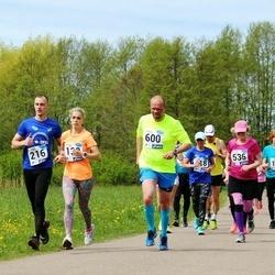 46. jooks ümber Harku järve - Tõnis Relvik (536), Tarvo Sikka (600)