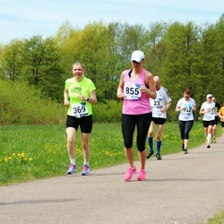 46. jooks ümber Harku järve - Aili Metsamaa (369), Ulla Helm (855)