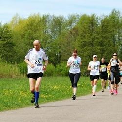 46. jooks ümber Harku järve - Andres Alajaan (23), Kristina Verbitskaja (744)