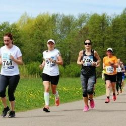 46. jooks ümber Harku järve - Ave Orgulas (432), Kristina Verbitskaja (744), Raili Vesberg-Pikk (746)