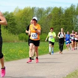 46. jooks ümber Harku järve - Ave Orgulas (432)