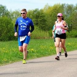 46. jooks ümber Harku järve - Jelena Mets (365)