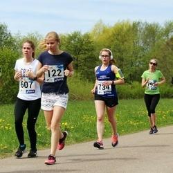 46. jooks ümber Harku järve - Kairi Joasaar (122), Julija Varušina (734)