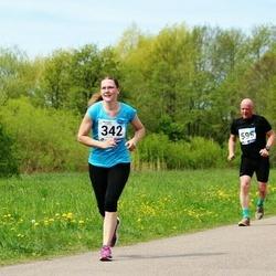 46. jooks ümber Harku järve - Esther Malv (342)