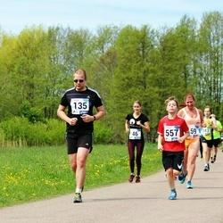 46. jooks ümber Harku järve - Jaanus Jõgisu (135), Rasmus Rossar (557)