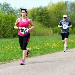 46. jooks ümber Harku järve - Mihkel Anni (35), Karita Mikko (858)
