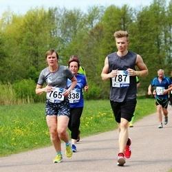 46. jooks ümber Harku järve - Tiina Voogne (765), Joonas Voogne (787)