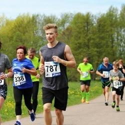 46. jooks ümber Harku järve - Este Maidle (338), Tiina Voogne (765), Joonas Voogne (787)