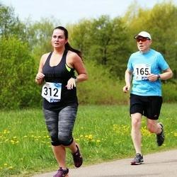 46. jooks ümber Harku järve - Marko Kallaspoolik (165), Kerli Liiv (312)