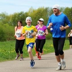 46. jooks ümber Harku järve - Maarika Kelder (192), Kregor Veber (739)