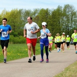 46. jooks ümber Harku järve - Krista Kiisler (200), Anton Merits (364), Andrew Thompson (654)
