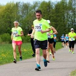 46. jooks ümber Harku järve - Piret Kummel (258), Karel Uurits (705)