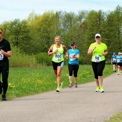 46. jooks ümber Harku järve - Maris Huopolainen (98), Glenn Laanisto (285), Margit Peebo (800)