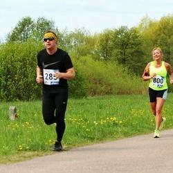 46. jooks ümber Harku järve - Glenn Laanisto (285), Maarja Žugova (636), Margit Peebo (800)