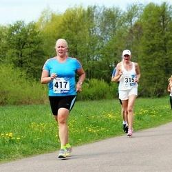 46. jooks ümber Harku järve - Aali Lilleorg (315), Ursula Noorväli (417)