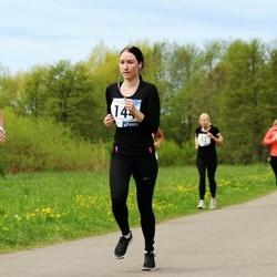 46. jooks ümber Harku järve - Kätlin Jüürman (144), Ruth Trääder (690)