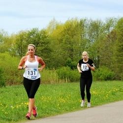 46. jooks ümber Harku järve - Evelin Aasamäe (12), Maarika Bent (50), Kairiin Jõemets (131)