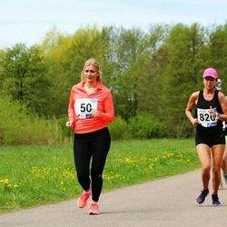 46. jooks ümber Harku järve - Maarika Bent (50), Eini Eskla (820)