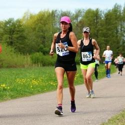 46. jooks ümber Harku järve - Eini Eskla (820), Sirle Lilleoja (863)