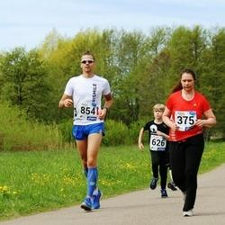46. jooks ümber Harku järve - Monika Michelson (375), Rait Rebane (854)