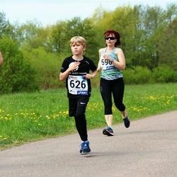 46. jooks ümber Harku järve - Katrin Seljak (590), Uku Hann Susi (626)