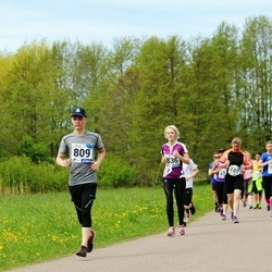 46. jooks ümber Harku järve - Kristjan Markus Eelmaa (809), Kadri-Triin Truija (836)