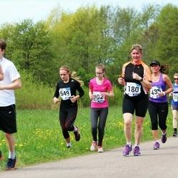 46. jooks ümber Harku järve - Ilvi Karindi (180), Ele Ots (435), Jenny Roos (549), Liili Vatsar (736)
