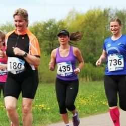 46. jooks ümber Harku järve - Ilvi Karindi (180), Ele Ots (435), Liili Vatsar (736)