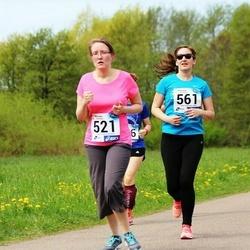 46. jooks ümber Harku järve - Sandra Raats (521), Talviki Rumberg (561)