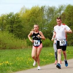46. jooks ümber Harku järve - Maria Elling (64), Tõnis Elling (65)