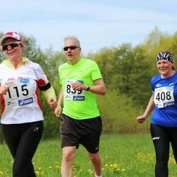 46. jooks ümber Harku järve - Marika Müür (408), Vahur Kivistik (839)