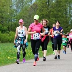 46. jooks ümber Harku järve - Lea Niinepuu (125), Triin Aasma (864)