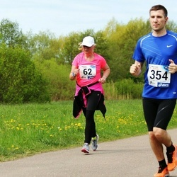 46. jooks ümber Harku järve - Reet Ellermaa (62), Pavel Masjatsenko (354)
