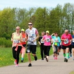 46. jooks ümber Harku järve - Magnus Salumaa (580), Hanna-Katre Tordik (678)