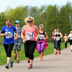 46. jooks ümber Harku järve - Ilme Parik (455), Mailis Udras (794)