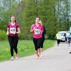 46. jooks ümber Harku järve - Teele Jaanson (107), Reet Otsus (439)