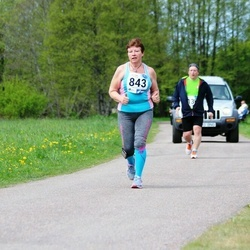 46. jooks ümber Harku järve - Leili Seisonen (843)
