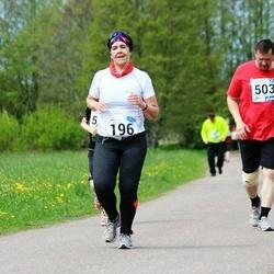 46. jooks ümber Harku järve - Karoliina Kiik (196), Peeter Puio (503)