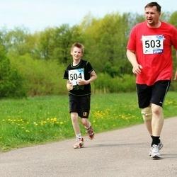 46. jooks ümber Harku järve - Peeter Puio (503)