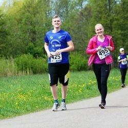 46. jooks ümber Harku järve - Liina Oksanen (428), Pille Poom (495)