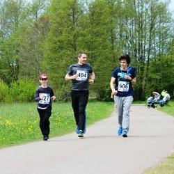 46. jooks ümber Harku järve - Martin Mäng (404), Mauri Sinimägi (606)