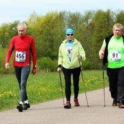 46. jooks ümber Harku järve - Ahto Hindrea (91), Aalo Parmas (456)