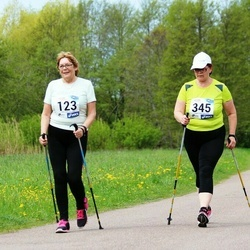 46. jooks ümber Harku järve - Anne-Ly Johanson (123), Merli Mander (345)