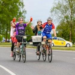 36. Tartu Rattaralli - Marianne Haamer (6419), Hellemai Haamer (6420), Anette Merisalu (6421)